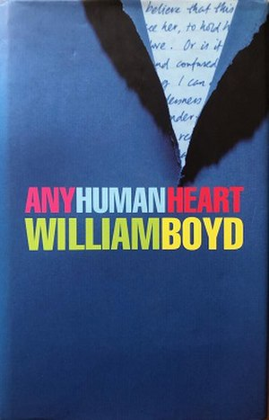 Any Human Heart - First edition cover