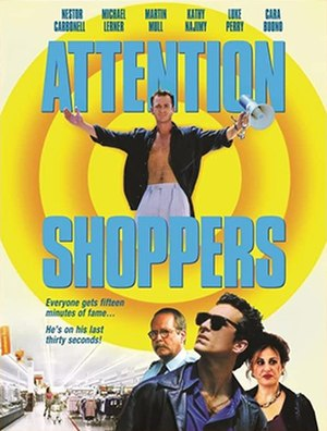 Attention Shoppers (film) - Official film poster