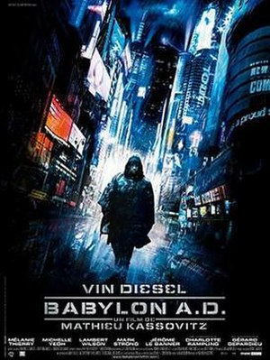 Babylon A.D. - Theatrical release poster