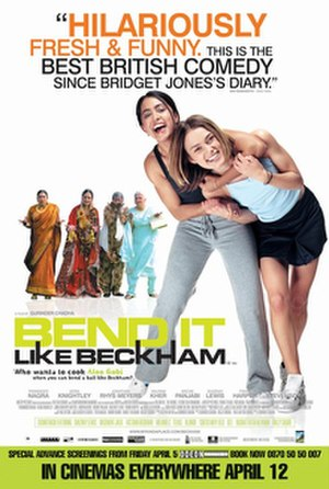 Bend It Like Beckham - British theatrical release poster