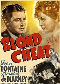 <i>Blond Cheat</i> 1938 film by Joseph Santley