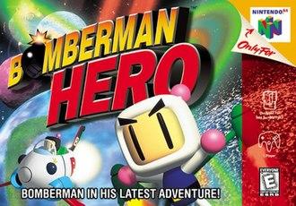 Bomberman Hero - North American Nintendo 64 cover art