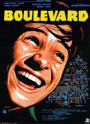 Boulevard (1960 film) - Image: Boulevard poster