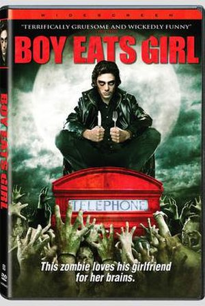 Boy Eats Girl - Unrated DVD cover
