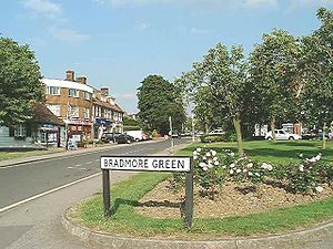 Brookmans Park - Image: Bradmore Green