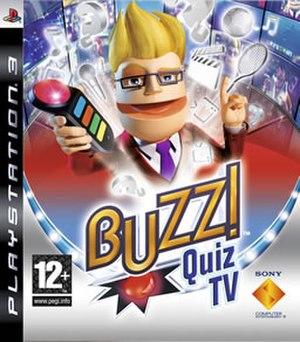 Buzz!: Quiz TV - Buzz!: Quiz TV cover