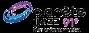 CKLX-FM - Logo as Planète Jazz 91,9, 2008-2012.