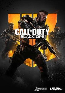 <i>Call of Duty: Black Ops 4</i> first-person shooter video game