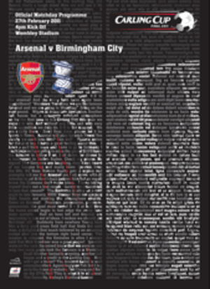 2011 Football League Cup Final - Image: Carling 2011 cover