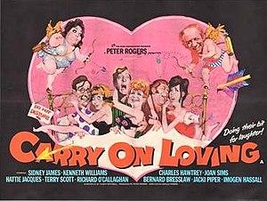 Carry On Loving - Original UK quad poster by Renato Fratini