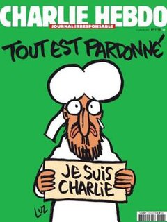 <i>Charlie Hebdo</i> issue No. 1178 Edition of the French Journal Charlie Hebdo