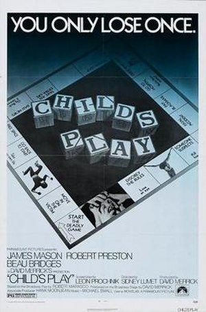 Child's Play (1972 film) - Theatrical release poster