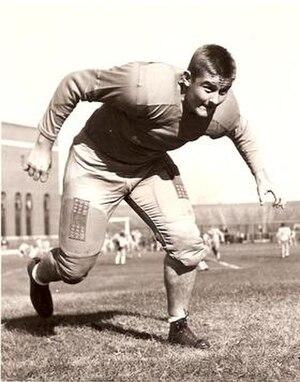 Clayton Tonnemaker - Tonnemaker while playing at Minnesota, c. 1940s
