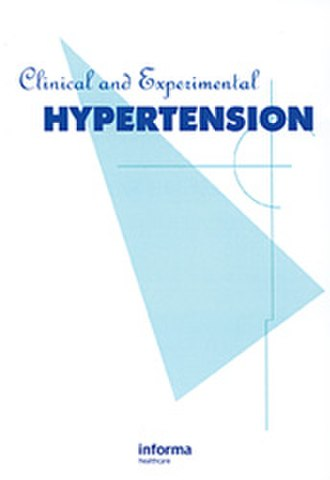 Clinical and Experimental Hypertension - Image: Clinical and Experimental Hypertension 300x 431