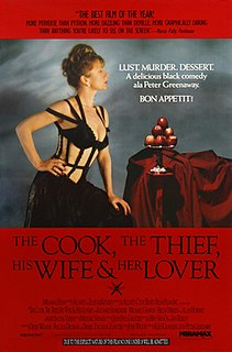 <i>The Cook, the Thief, His Wife & Her Lover</i> 1989 film by Peter Greenaway