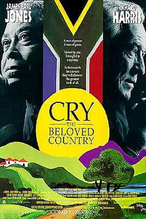 Cry, the Beloved Country (1995 film) - Theatrical release poster