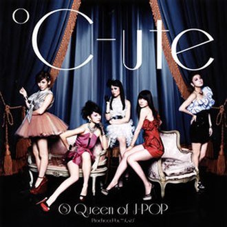 8 Queen of J-pop - Image: Cute 8 Queen of J pop (Regular Edition, EPCE 5990) cover