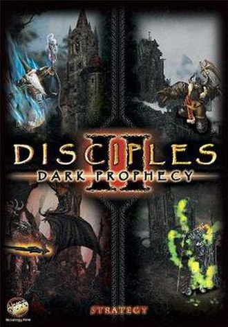 Disciples II: Dark Prophecy - Image: Disciples 2 cover