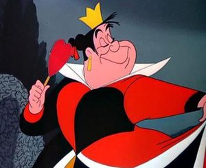 Queen of Hearts (Alice's Adventures in Wonderland) - Disney's adaptation of the Queen of Hearts.