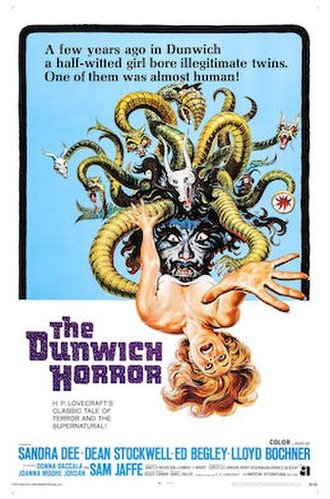 The Dunwich Horror (film) - Theatrical release poster