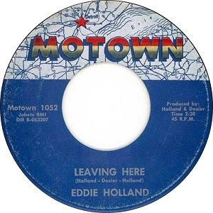 Leaving Here - Image: Eddie holland leaving here 1963 2