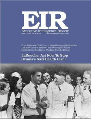 Executive Intelligence Review - Executive Intelligence Review cover