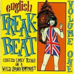 English Freakbeat, Volume 1 - Image: English Freakbeat Vol 1 cover