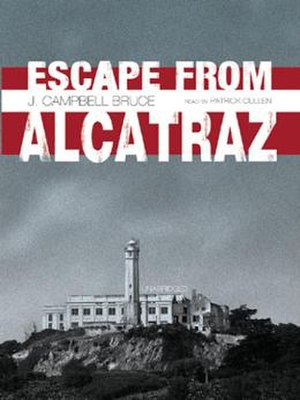 Escape from Alcatraz (book) - Cover of the book