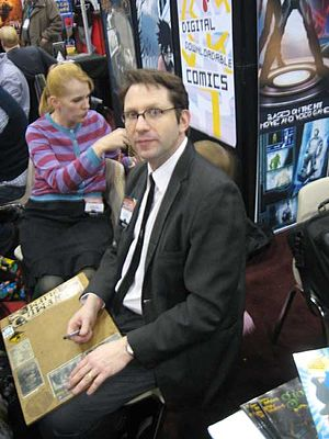 Evan Dorkin - Dorkin at the New York Comic Con, February 25, 2007.