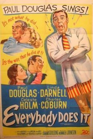 Everybody Does It - Theatrical release poster