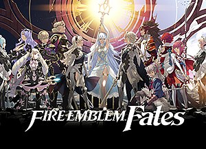 Fire Emblem Fates - North American artwork for the special edition of Fates, featuring the complete main cast