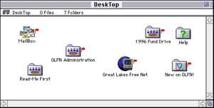 """FirstClass - Basic FirstClass """"desktop"""", circa 1993"""