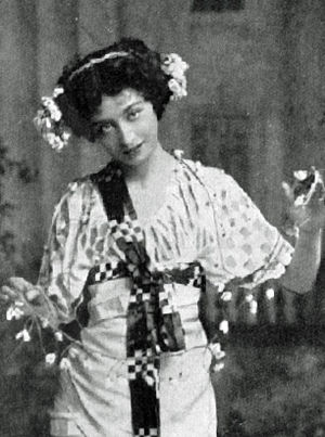 Florence Smithson - Smithson in The Arcadians, 1909