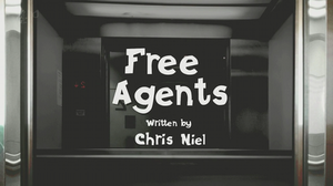 Free Agents - Opening credits title