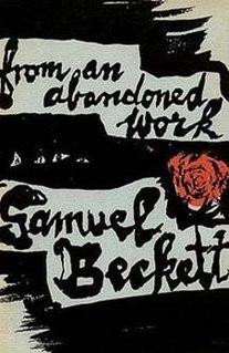 <i>From an Abandoned Work</i> 1956 play written by Samuel Beckett