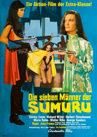 The Girl from Rio - Theatrical release poster