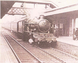 Gobowen railway station - Image: Gobowen 9
