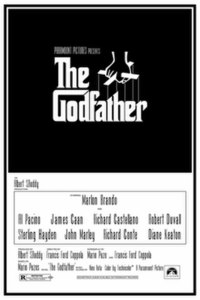 The original Godfather movie poster