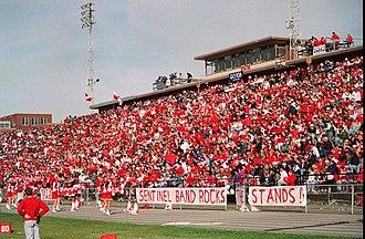 Greenway Avenue Stadium - Image: Greenwayave homecoming 3 1994