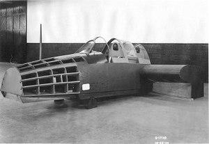 Grumman XTSF - Mockup of the XTSF-1's forward fuselage