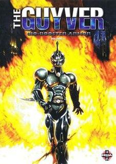 <i>The Guyver: Bio-Booster Armor</i> Japanese original video animation (anime)