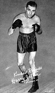 Harry Jeffra American boxer