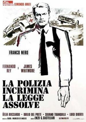 High Crime - Italian film poster for High Crime