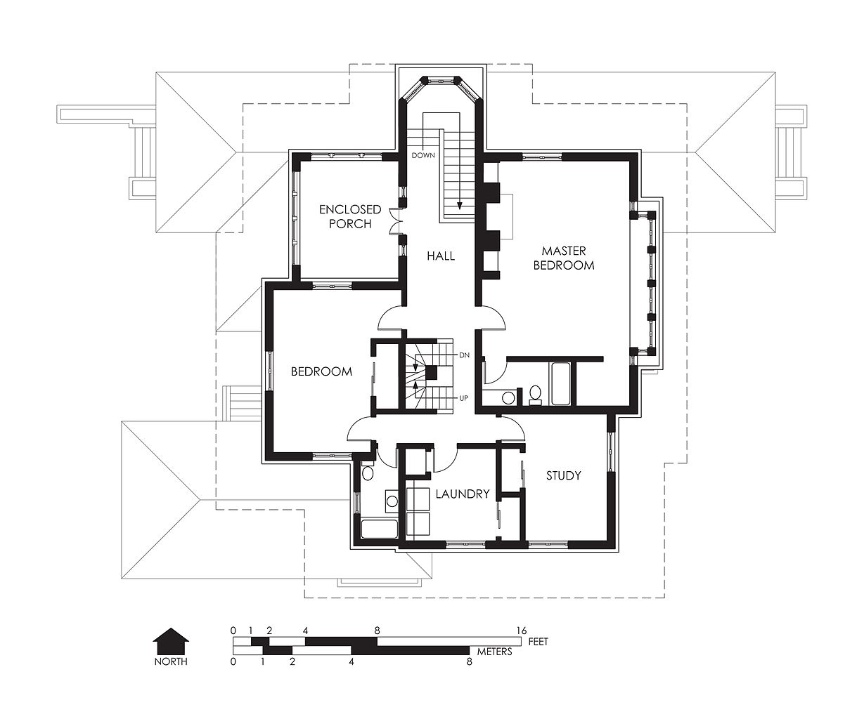 File hills decaro house second floor wikipedia - Master on main house plans image ...