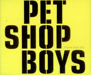 Home and Dry (Pet Shop Boys song) 2002 single by Pet Shop Boys