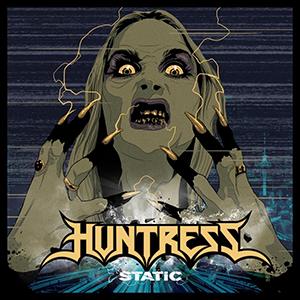 Static (Huntress album) - Image: Huntress Static