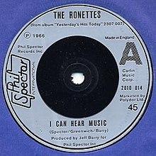 Puedo oír música - Ronettes.jpg