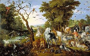 1613 in art - Brueghel – The Entry of the Animals Into Noah's Ark