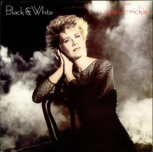 Black and White (Janie Fricke album) - Image: Janie Fricke Black White