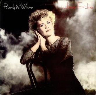 Black and White (Janie Fricke album) - Image: Janie Fricke Black White